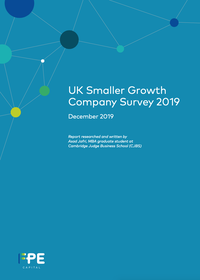 UK Smaller Growth Company Survey 2019 Cover